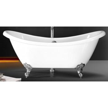 Ванна Volle 175*75/78см, отдельностоящая, акриловая, с сифоном 12-22-314