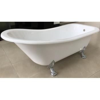 Ванна Volle 176*73*73/58см, отдельностоящая, акриловая, с сифоном 12-22-706