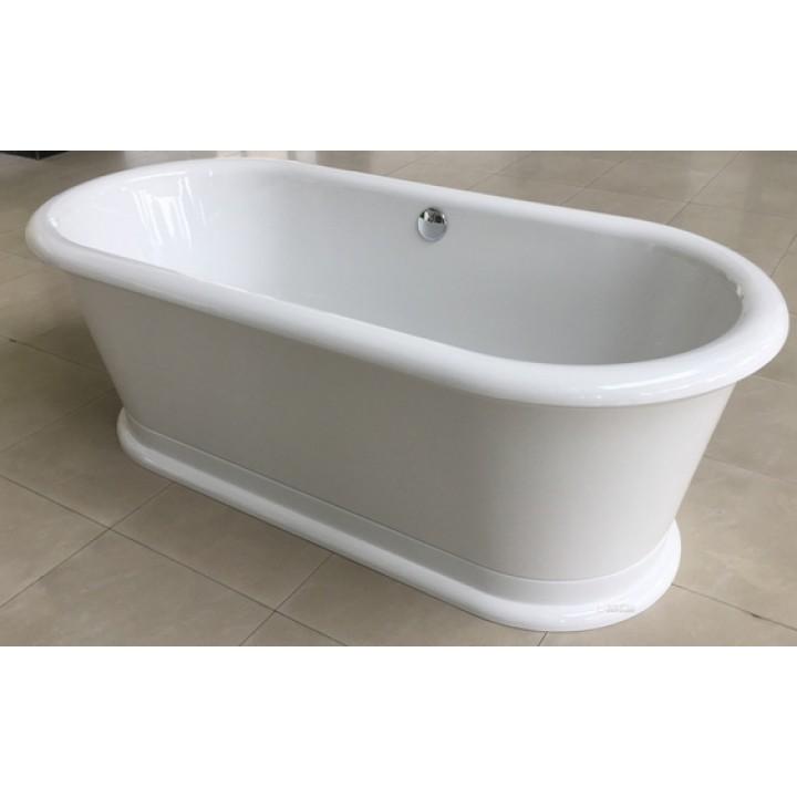 Ванна Volle 180*85*63,5см, отдельностоящая, акриловая, с сифоном 12-22-807